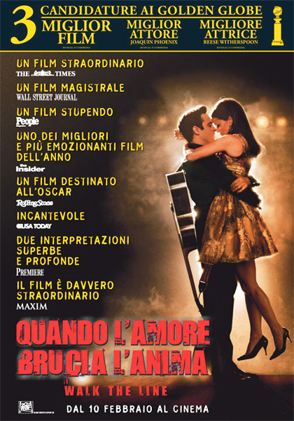 Monday Movie & Music: Walk the line – quando l'amore brucia l'anima