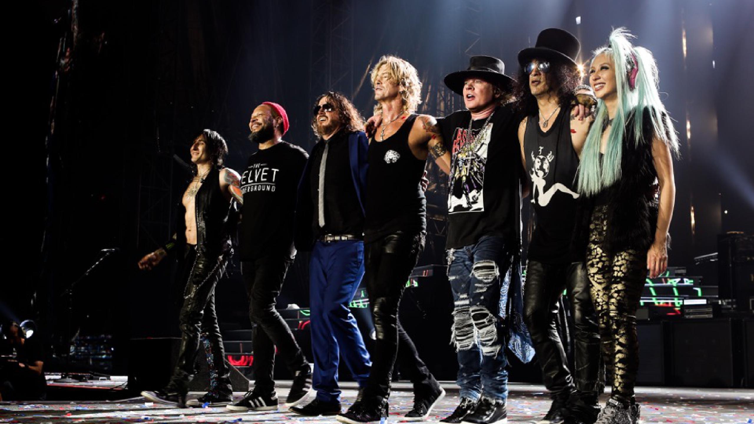 Perchè andare a vedere i Guns n' Roses al Firenze Rocks 2020